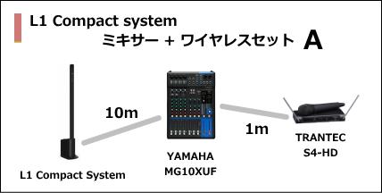 L1 Compact MIXER WIRELESS SET A