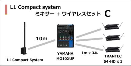 L1 Compact MIXER WIRELESS SET C