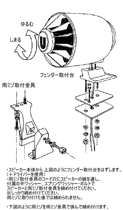 CJ-14 取付方法 ルーフサイド 雨ミゾ1