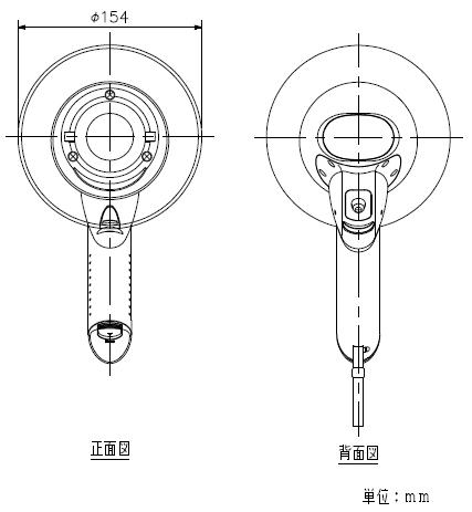 ER-1106S 寸法図2