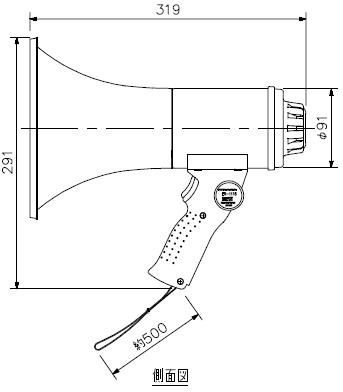 ER-1115 寸法図1