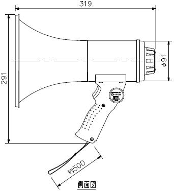 ER-1115W 寸法図1