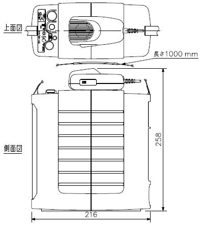 ER-604W 寸法図1