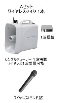 UNI-PEX ワイヤレスメガホン Aセット