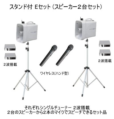 UNI-PEX ワイヤレスメガホン スタンドEセット