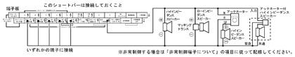 ハイインピーダンススピーカー接続法1