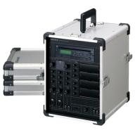 UNI-PEX キャリングアンプ (100W x 2) CD/SD/USBプレーヤー付