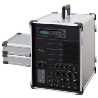 UNI-PEX キャリングアンプ (65W x 2) CD/SD/USB付