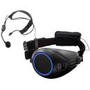 TOA ハンズフリー拡声器 (VOICE WALKER) ブラック Bluetooth付き ER-1000A-BT