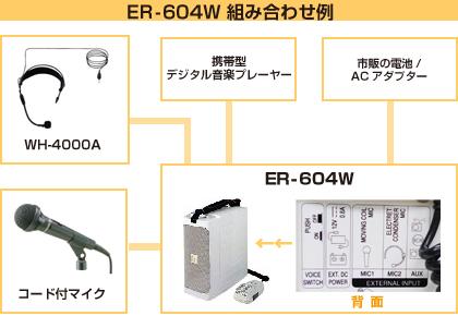 ER-604W 組み合わせ例