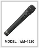 ワイヤレスマイクハンド型 WM-1220