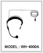ヘッドセットマイクロホン WH-4000A