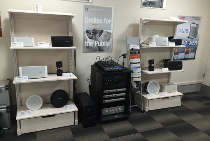 スピーカーサウンド展示室