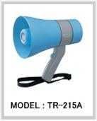 防滴メガホン 6W TR-215A