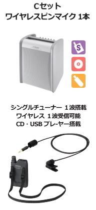 JVC ワイヤレスアンプ シングル CD,USB付 Cセット