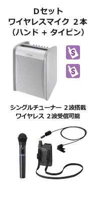 JVC ワイヤレスアンプ シングル Dセット
