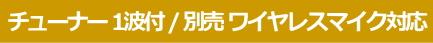 JVC ワイヤレスアンプ 本体 チューナー1波付 別売 ワイヤレスマイク対応